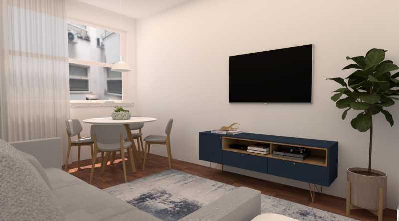 2ef5aa4723160b6e-sala 03 - Apartamento 1 quarto à venda Copacabana, Rio de Janeiro - R$ 529.000 - SVAP10056 - 4