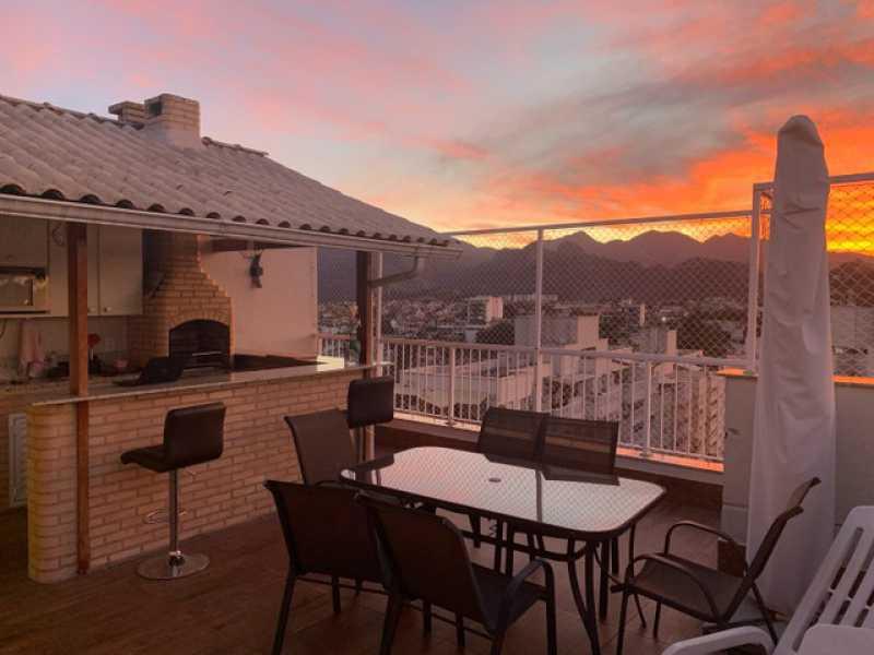 1 - Cobertura 4 quartos à venda Taquara, Rio de Janeiro - R$ 635.000 - SVCO40013 - 1