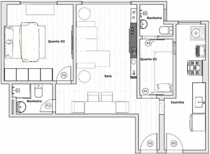 19 - Apartamento 2 quartos à venda Tanque, Rio de Janeiro - R$ 205.000 - SVAP20565 - 17