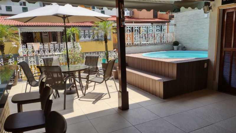 4392_G1631798124 - Casa em Condomínio 3 quartos à venda Jacarepaguá, Rio de Janeiro - R$ 850.000 - SVCN30167 - 1