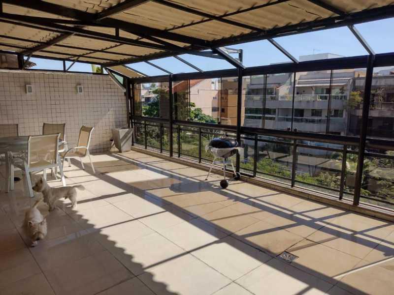 1 - Cobertura 3 quartos à venda Recreio dos Bandeirantes, Rio de Janeiro - R$ 1.750.000 - SVCO30042 - 1