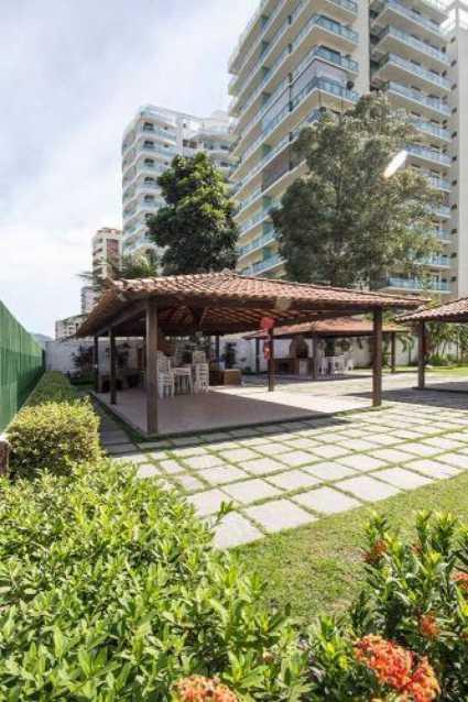 churrasqueira - Apartamento 2 quartos à venda Barra da Tijuca, Rio de Janeiro - R$ 429.900 - SVAP20581 - 1