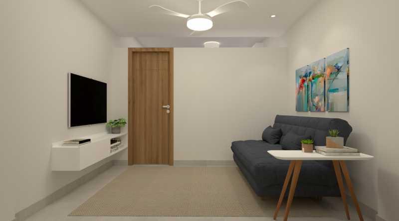 5d00c96883cfba57-SALA 01 - Apartamento 1 quarto à venda Copacabana, Rio de Janeiro - R$ 538.900 - SVAP10059 - 3
