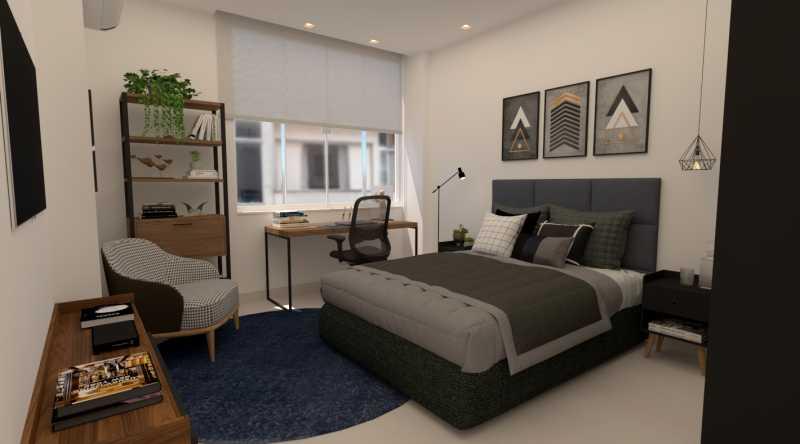 180238e380824bf6-quarto 01 1 - Apartamento 2 quartos à venda Copacabana, Rio de Janeiro - R$ 748.900 - SVAP20583 - 8