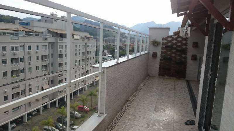 FOTO9 - Cobertura 2 quartos à venda Taquara, Rio de Janeiro - R$ 480.000 - SVCO20004 - 17