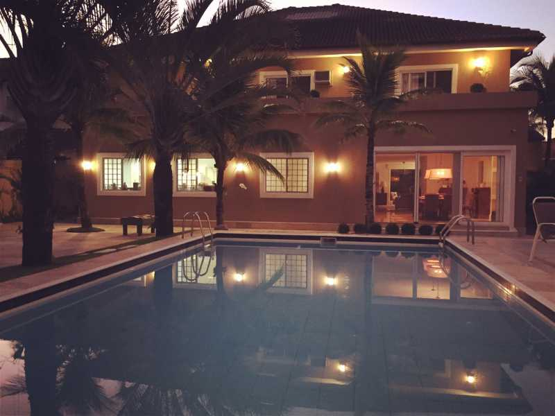 1 - Casa em Condomínio 5 quartos para venda e aluguel Barra da Tijuca, Rio de Janeiro - R$ 4.990.000 - SVCN50013 - 1
