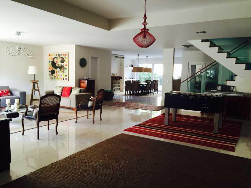 5 - Casa em Condominio Para Venda ou Aluguel - Barra da Tijuca - Rio de Janeiro - RJ - SVCN50013 - 6