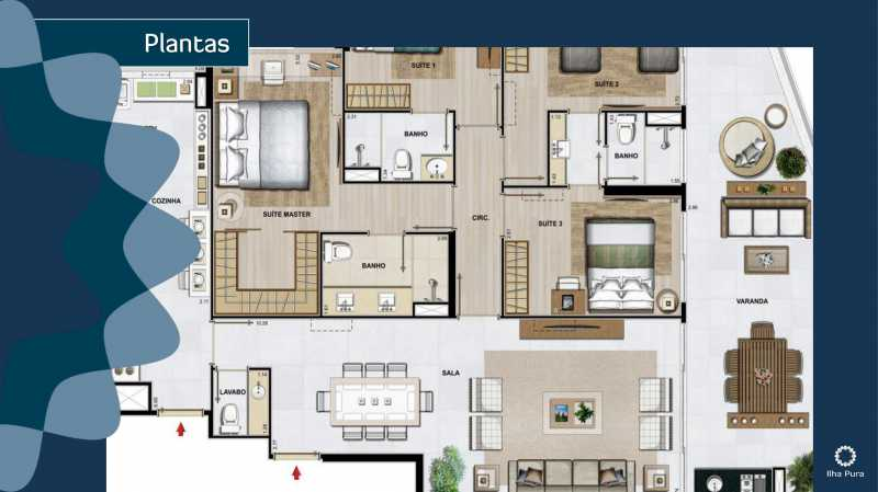 Book Millenio-16 - Apartamento 2 quartos à venda Recreio dos Bandeirantes, Rio de Janeiro - R$ 672.900 - SVAP20095 - 14