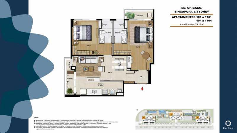 Book Millenio-17 - Apartamento 2 quartos à venda Recreio dos Bandeirantes, Rio de Janeiro - R$ 672.900 - SVAP20095 - 17