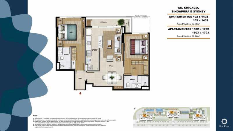 Book Millenio-18 - Apartamento 2 quartos à venda Recreio dos Bandeirantes, Rio de Janeiro - R$ 672.900 - SVAP20095 - 18