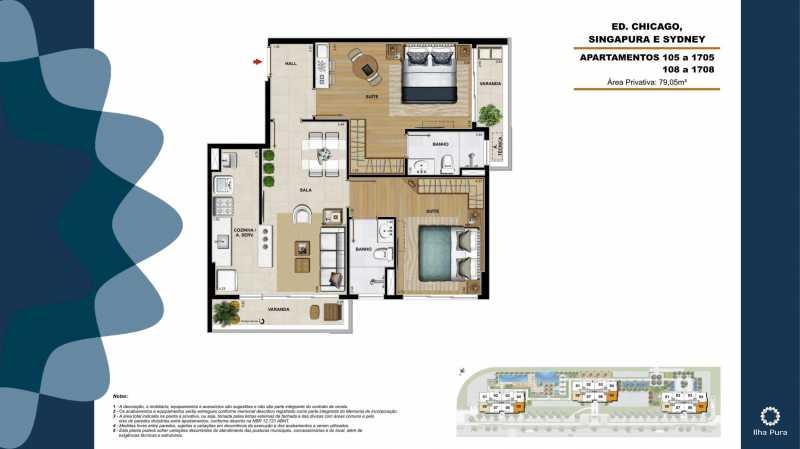 Book Millenio-19 - Apartamento 2 quartos à venda Recreio dos Bandeirantes, Rio de Janeiro - R$ 672.900 - SVAP20095 - 19