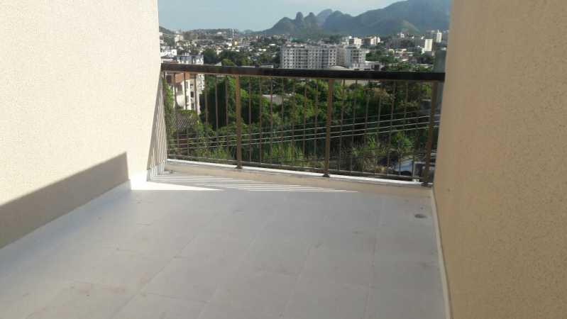 1 - Casa de Vila 3 quartos à venda Taquara, Rio de Janeiro - R$ 415.000 - SVCV30003 - 12