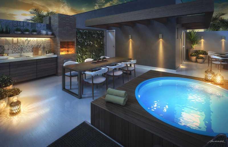 área de lazer - Apartamento 2 quartos à venda Pechincha, Rio de Janeiro - R$ 329.000 - SVAP20120 - 12
