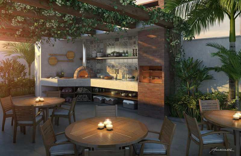 Churrasqueira 1 - Apartamento 2 quartos à venda Pechincha, Rio de Janeiro - R$ 329.000 - SVAP20120 - 16