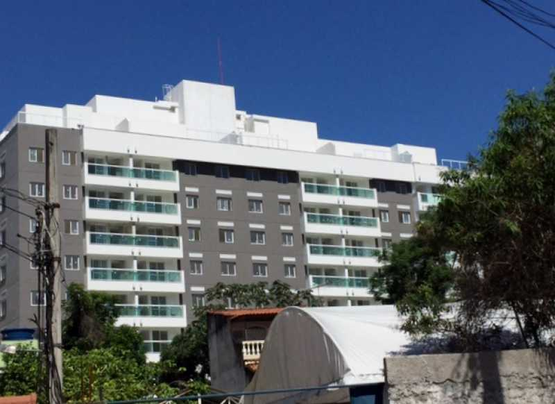 fachada lateral - Apartamento 2 quartos à venda Pechincha, Rio de Janeiro - R$ 329.000 - SVAP20120 - 25