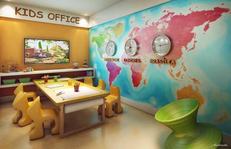 Kids office - Apartamento 2 quartos à venda Pechincha, Rio de Janeiro - R$ 329.000 - SVAP20120 - 18