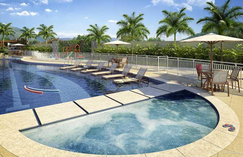 Piscina 1 - Apartamento 2 quartos à venda Pechincha, Rio de Janeiro - R$ 329.000 - SVAP20120 - 13