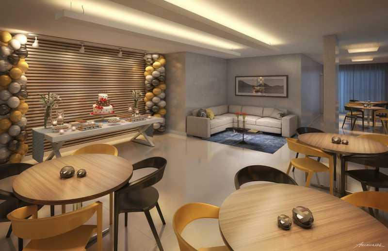 Salão de festas - Apartamento 2 quartos à venda Pechincha, Rio de Janeiro - R$ 329.000 - SVAP20120 - 21