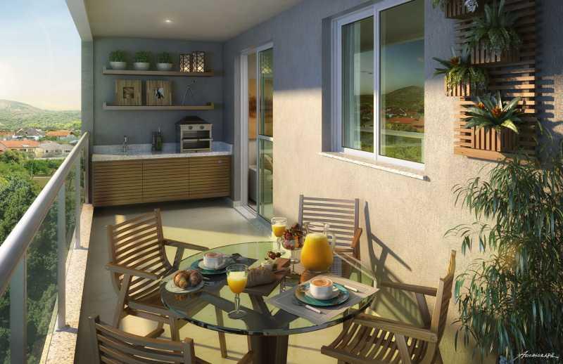 Varanda Gourmet - Apartamento 2 quartos à venda Pechincha, Rio de Janeiro - R$ 329.000 - SVAP20120 - 3