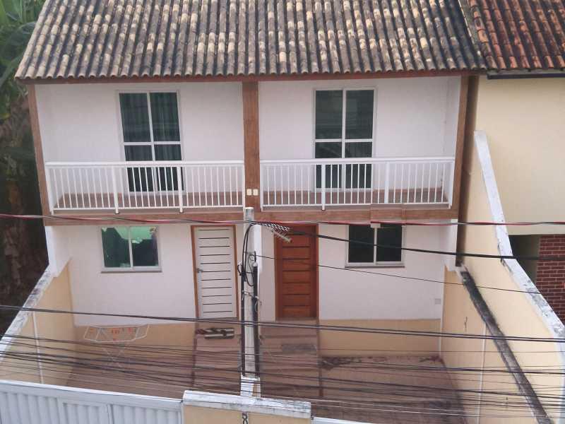 Fachada - Casa em Condomínio 2 quartos à venda Taquara, Rio de Janeiro - R$ 419.900 - SVCN20016 - 1