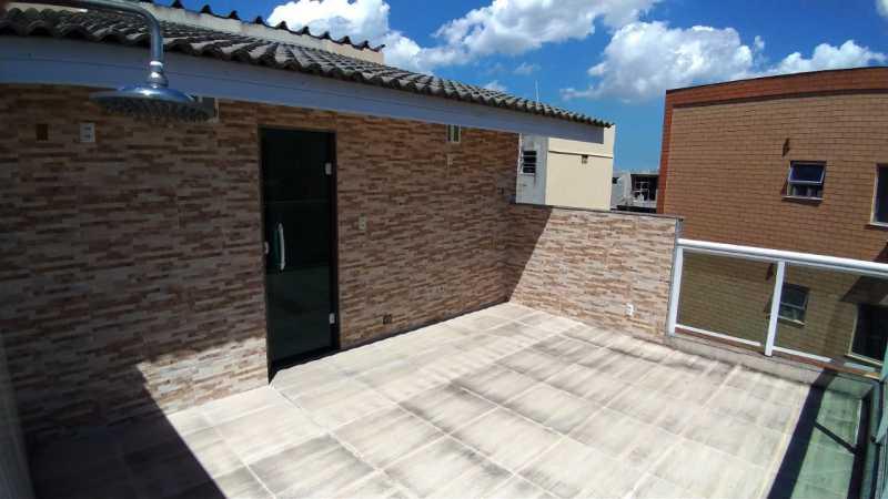 1 - Casa em Condomínio 3 quartos à venda Tanque, Rio de Janeiro - R$ 478.000 - SVCN30040 - 1