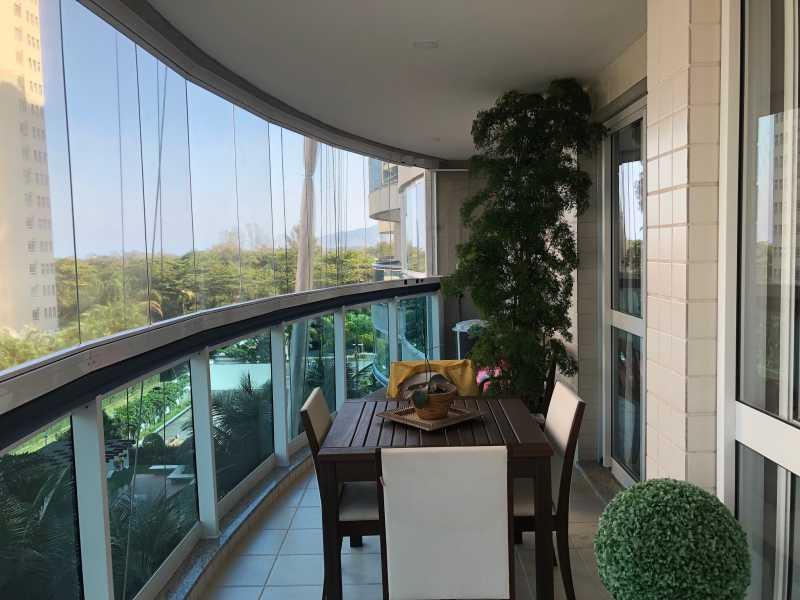 2 - Apartamento À Venda - Barra da Tijuca - Rio de Janeiro - RJ - SVAP30089 - 1