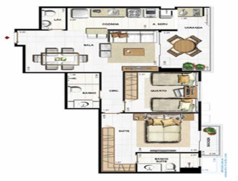 PHOTO-2018-07-11-12-39-50 - Apartamento à venda Jacarepaguá, Rio de Janeiro - R$ 519.900 - SVAP00006 - 11