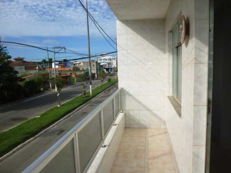 Varanda, vista - Apartamento 2 quartos à venda Jardim Esperança, Cabo Frio - R$ 210.000 - SVAP20161 - 1