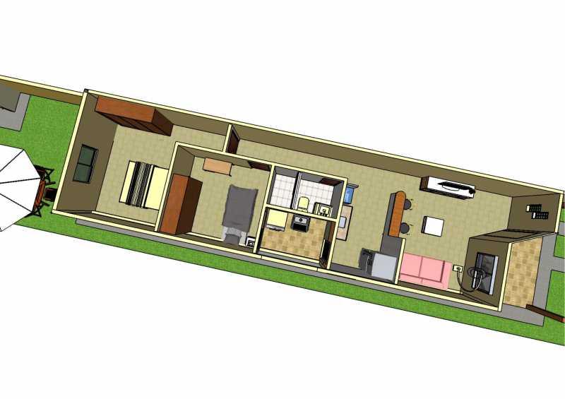 20 - Casa de Vila 2 quartos à venda Pedra de Guaratiba, Rio de Janeiro - R$ 225.000 - SVCV20006 - 21