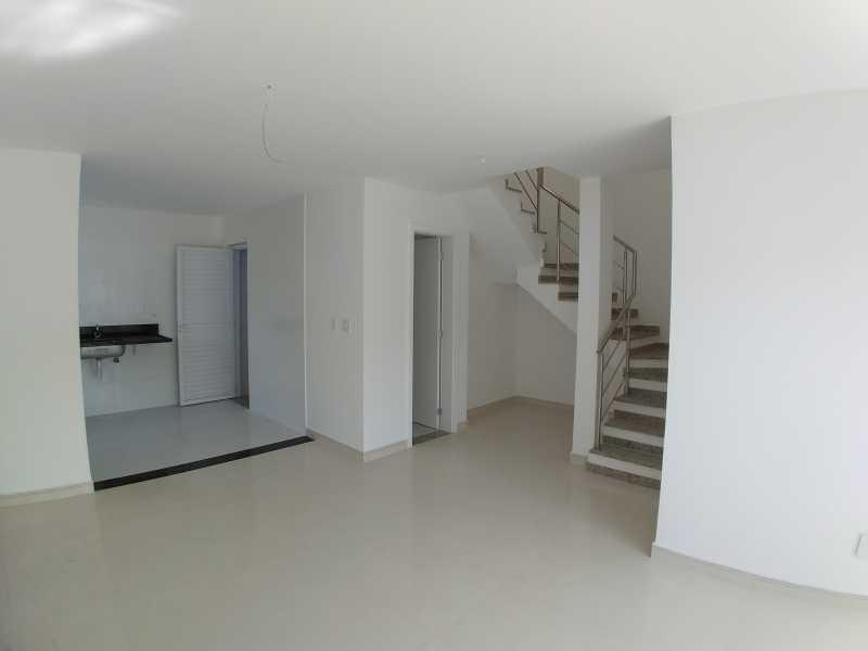 1 - Casa de Vila 3 quartos à venda Taquara, Rio de Janeiro - R$ 614.900 - SVCV30008 - 1