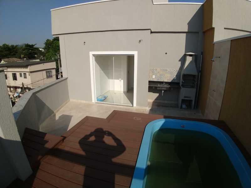 30 - Casa de Vila 3 quartos à venda Taquara, Rio de Janeiro - R$ 614.900 - SVCV30008 - 31