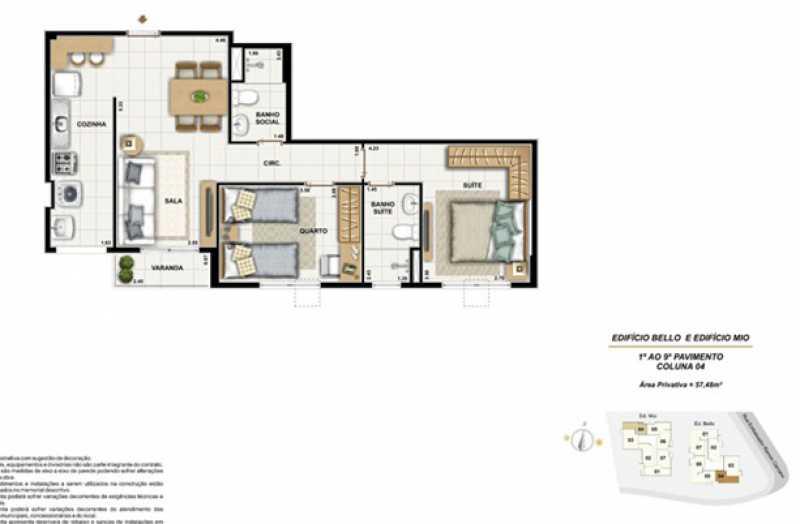 17 - Apartamento 2 quartos à venda Tijuca, Rio de Janeiro - R$ 330.000 - SVAP20275 - 21
