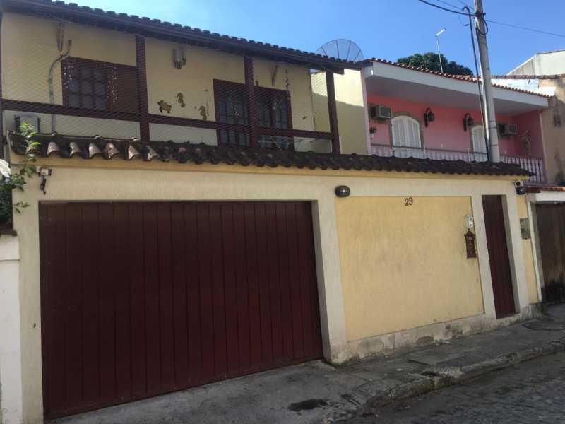 1 - Casa de Vila 3 quartos à venda Taquara, Rio de Janeiro - R$ 319.900 - SVCV30016 - 1