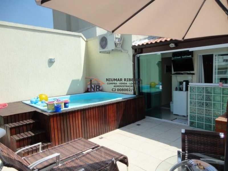 FOTO 18 - Cobertura 4 quartos à venda Freguesia (Jacarepaguá), Rio de Janeiro - R$ 690.000 - NR00159 - 14