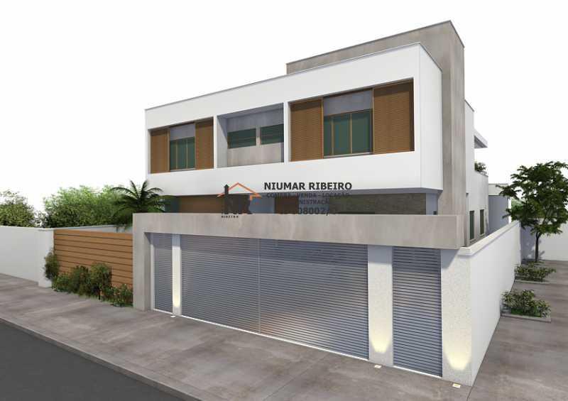 Muro - Casa em Condomínio 5 quartos à venda Freguesia (Jacarepaguá), Rio de Janeiro - R$ 980.000 - NR00161 - 5