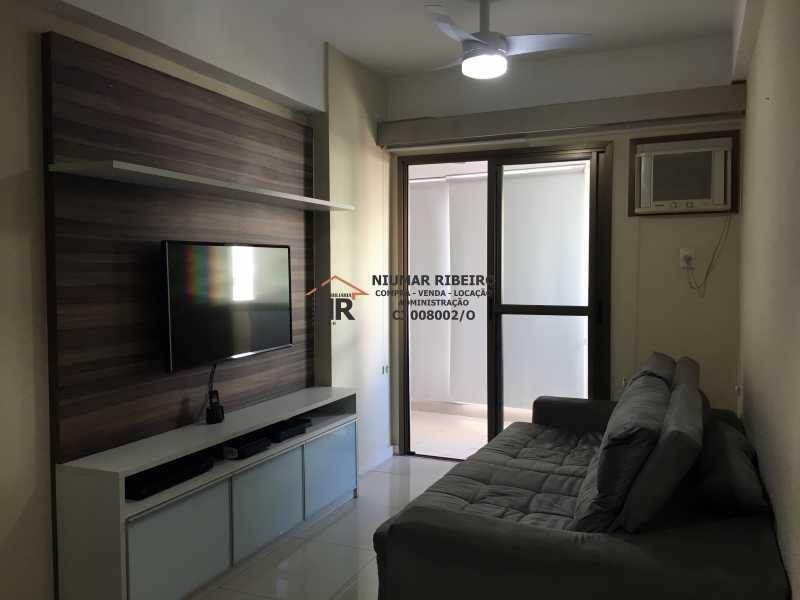 1 - Sala - Apartamento 3 quartos à venda Pechincha, Rio de Janeiro - R$ 395.000 - NR00182 - 5