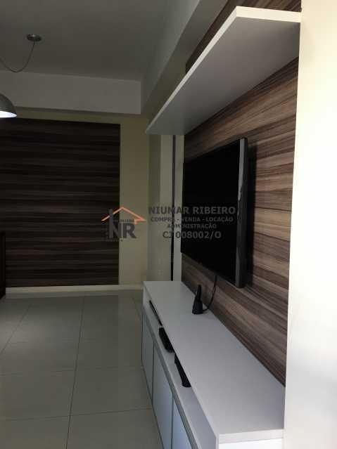 2- Sala - Apartamento 3 quartos à venda Pechincha, Rio de Janeiro - R$ 395.000 - NR00182 - 6