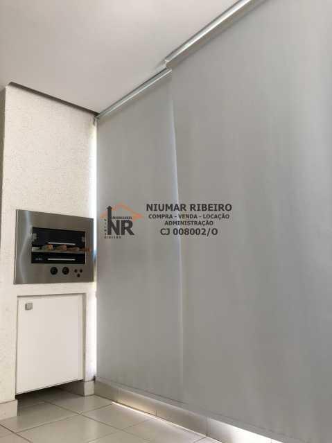 5 - Sacada - Apartamento 3 quartos à venda Pechincha, Rio de Janeiro - R$ 395.000 - NR00182 - 4
