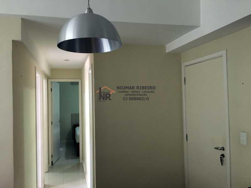 9 - Corredor - Apartamento 3 quartos à venda Pechincha, Rio de Janeiro - R$ 395.000 - NR00182 - 14