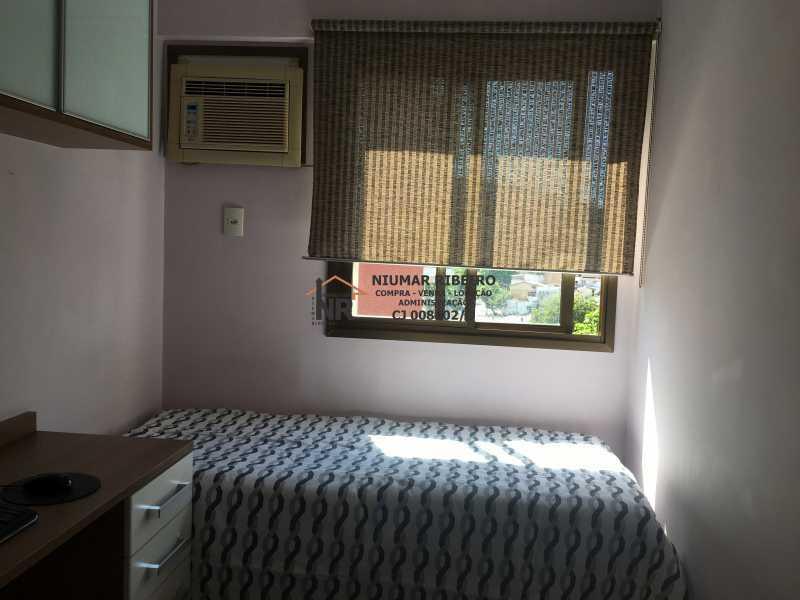 11 - Quarto 1 - Apartamento 3 quartos à venda Pechincha, Rio de Janeiro - R$ 395.000 - NR00182 - 13
