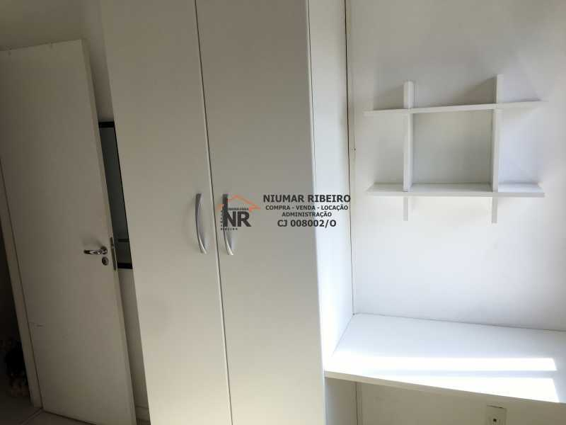 13 - Quarto 2 - Apartamento 3 quartos à venda Pechincha, Rio de Janeiro - R$ 395.000 - NR00182 - 20