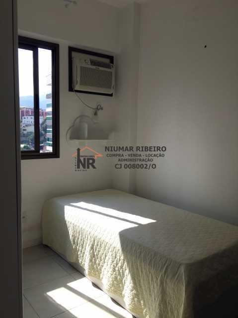 14 - Quarto 2 - Apartamento 3 quartos à venda Pechincha, Rio de Janeiro - R$ 395.000 - NR00182 - 16