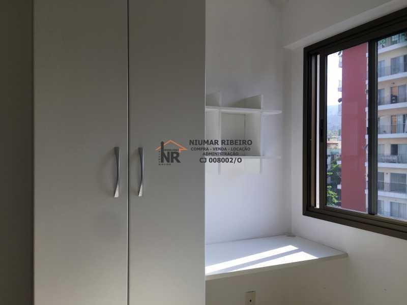 15 - Quarto 2 - Apartamento 3 quartos à venda Pechincha, Rio de Janeiro - R$ 395.000 - NR00182 - 15