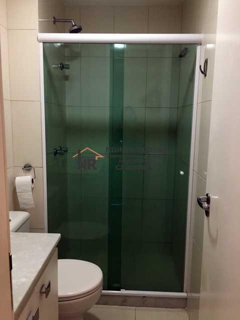 16 - Banheiro social - Apartamento 3 quartos à venda Pechincha, Rio de Janeiro - R$ 395.000 - NR00182 - 21