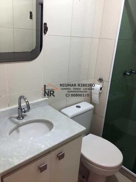 17 - Banheiro social - Apartamento 3 quartos à venda Pechincha, Rio de Janeiro - R$ 395.000 - NR00182 - 22