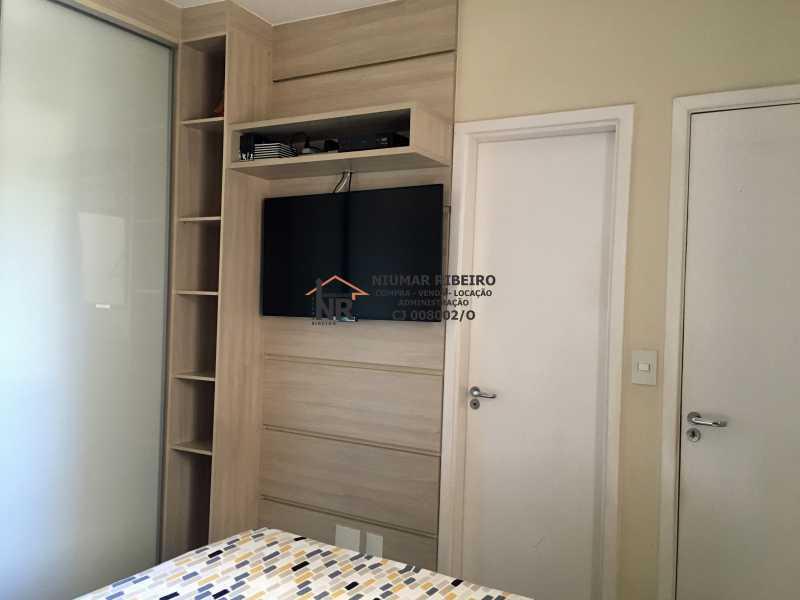 20 - Suite - Apartamento 3 quartos à venda Pechincha, Rio de Janeiro - R$ 395.000 - NR00182 - 9
