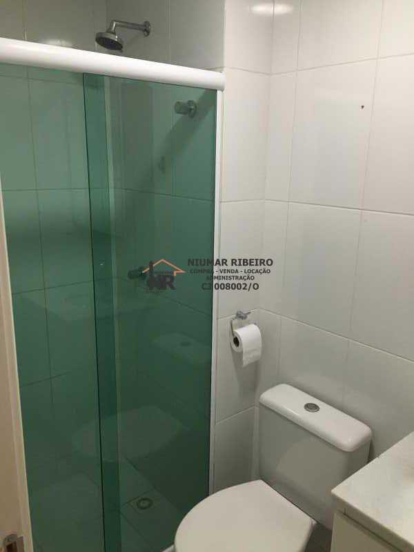 22 - Banheiro suite - Apartamento 3 quartos à venda Pechincha, Rio de Janeiro - R$ 395.000 - NR00182 - 10
