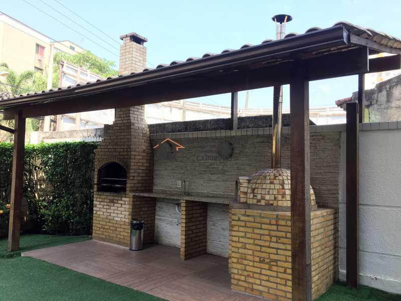 27 - Churrasqueira - Apartamento 3 quartos à venda Pechincha, Rio de Janeiro - R$ 395.000 - NR00182 - 27