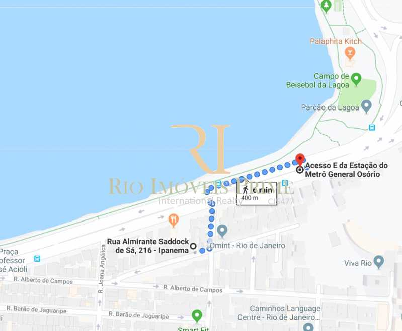 DISTÂNCIA METRÔ - Fachada - Ipanema Ville - 111 - 11