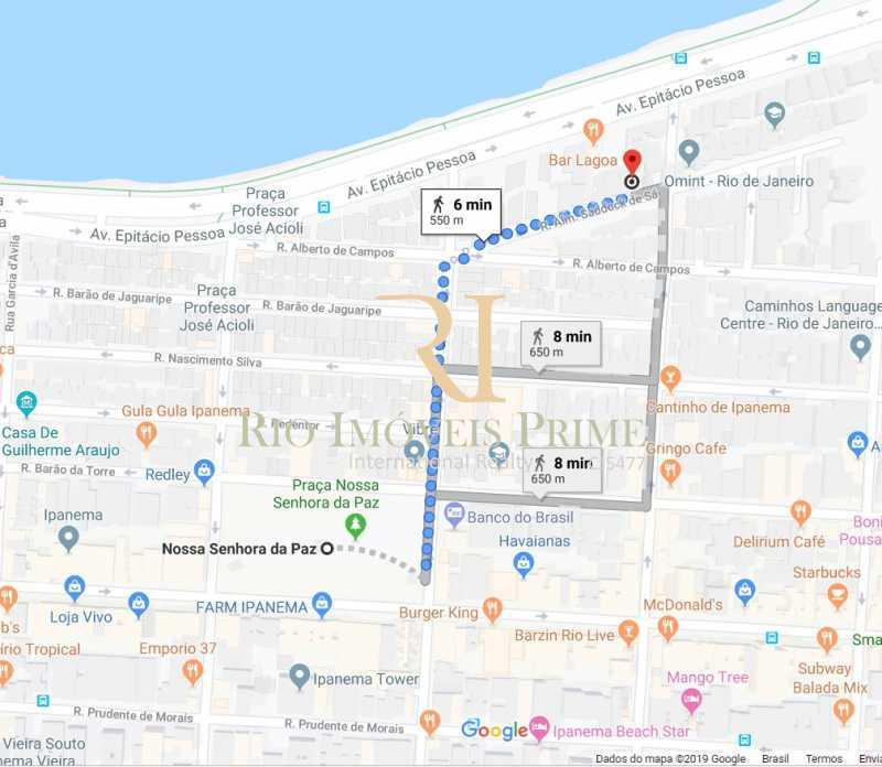 DISTÂNCIA METRÔ - Fachada - Ipanema Ville - 111 - 12